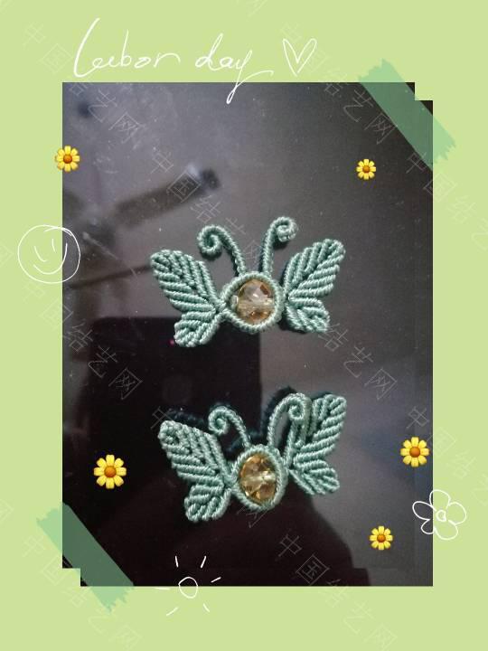 中国结论坛 两对蝴蝶扣子  作品展示 165446eaayb0nyxavaay1y