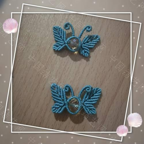 中国结论坛 两对蝴蝶扣子  作品展示 165446pysq0yrj3g5qh3qn