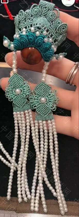 中国结论坛 请问刀马旦项链挂件的珠子怎么配好看  结艺互助区