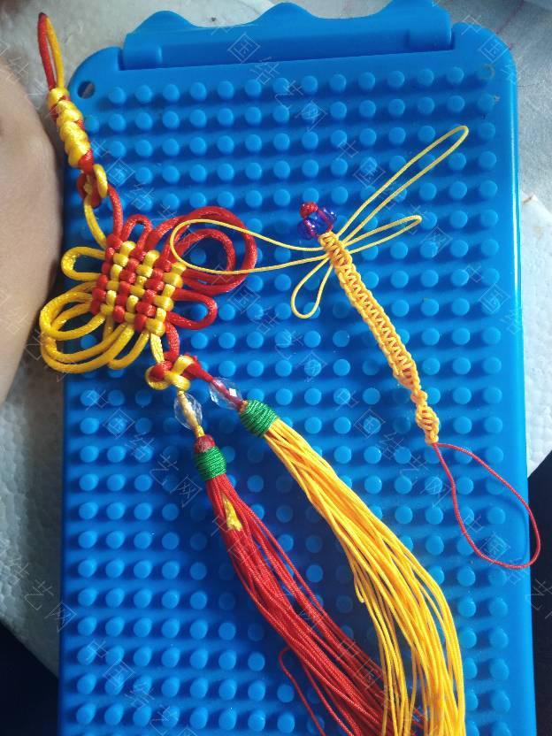 中国结论坛 复翼盘长和蜻蜓  作品展示 140421i33w2zmlw2wwmfwl