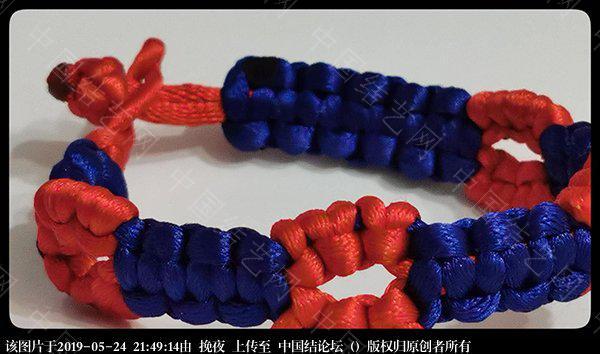 中国结论坛 随编手链 手链,二十四种手链编法,容易编的女生手链,一根单绳编手链,手链的编法大全 作品展示 212756hz3e1t1fc2c44y19