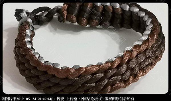 中国结论坛 随编手链 手链,二十四种手链编法,容易编的女生手链,一根单绳编手链,手链的编法大全 作品展示 212757hik5pioon9nssisu