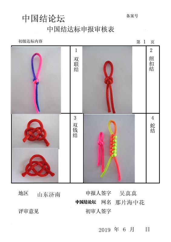 中国结论坛 那片海中花--初级达标申请稿件  中国绳结艺术分级达标审核 164654ga34jf54hc4a5n4a