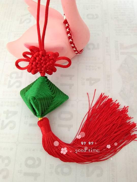 中国结论坛 粽子,买了好久的中国结有用武之地了  作品展示 160121n6hnalbkkfbbhbdf