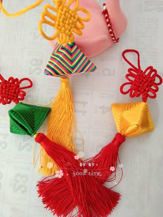 中国结论坛 粽子,买了好久的中国结有用武之地了  作品展示 160122lbgnsv3zaehesuyu