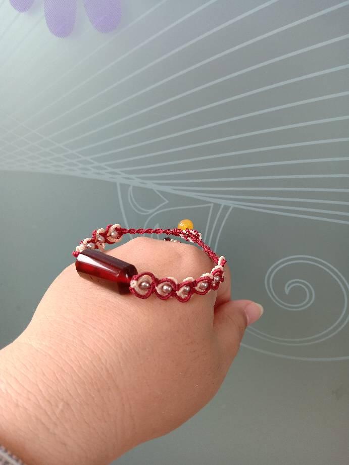 中国结论坛 血珀蜜蜡心形手绳和两款富足福禄手绳  作品展示 154214jy0u8ytbydtl0g9t