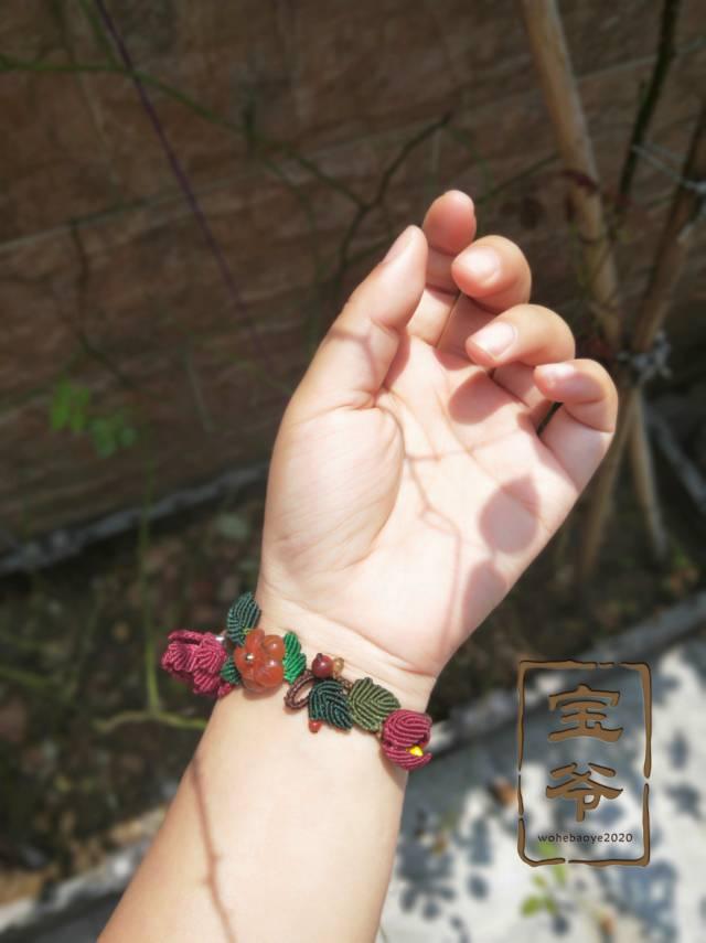 中国结论坛 牡丹花纯银半镯  作品展示 181456burpprkp0dox5rp3