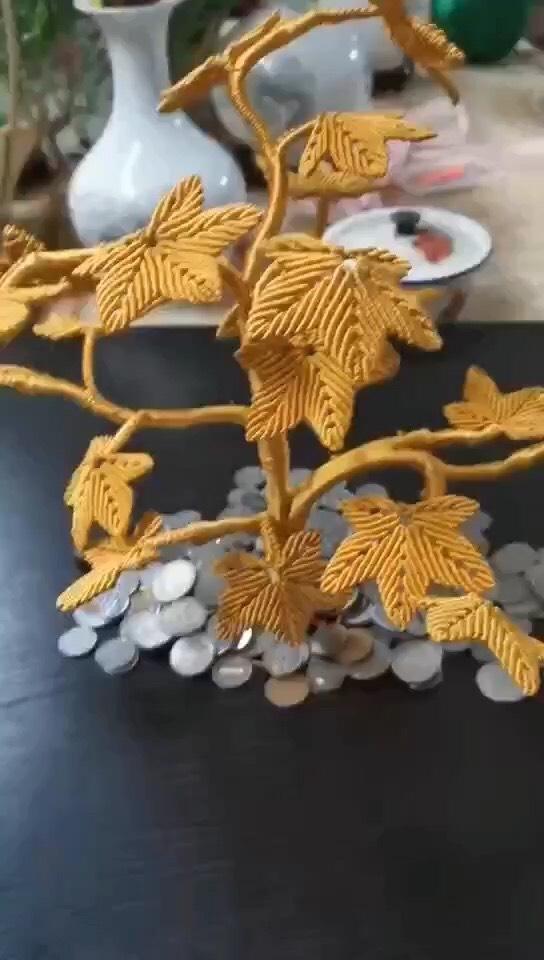 中国结论坛 仿摇钱树  作品展示 222605oat01mss01nmunvx