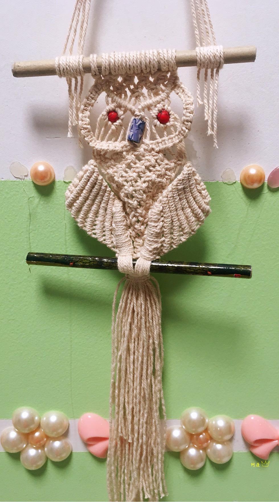 中国结论坛 棉线编织——猫头鹰  作品展示 133840goipe5sfz85lfeii