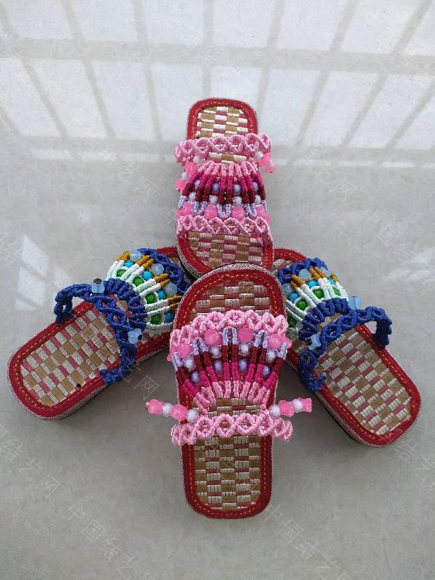 中国结论坛 串珠童趣拖鞋  作品展示 144028k7p5cop9oqfdjzo2