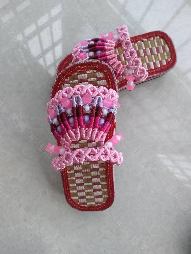 中国结论坛 串珠童趣拖鞋  作品展示 144030djdz32ejbe55d12d