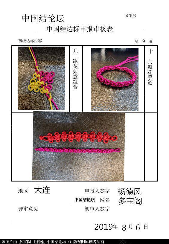 中国结论坛 多宝阁--初级达标稿件      请老师审核  中国绳结艺术分级达标审核 101022zz730zj579qwjzb4