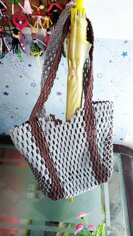 中国结论坛 双色平结袋子  作品展示 124045mon5ssc3ypys0x3s