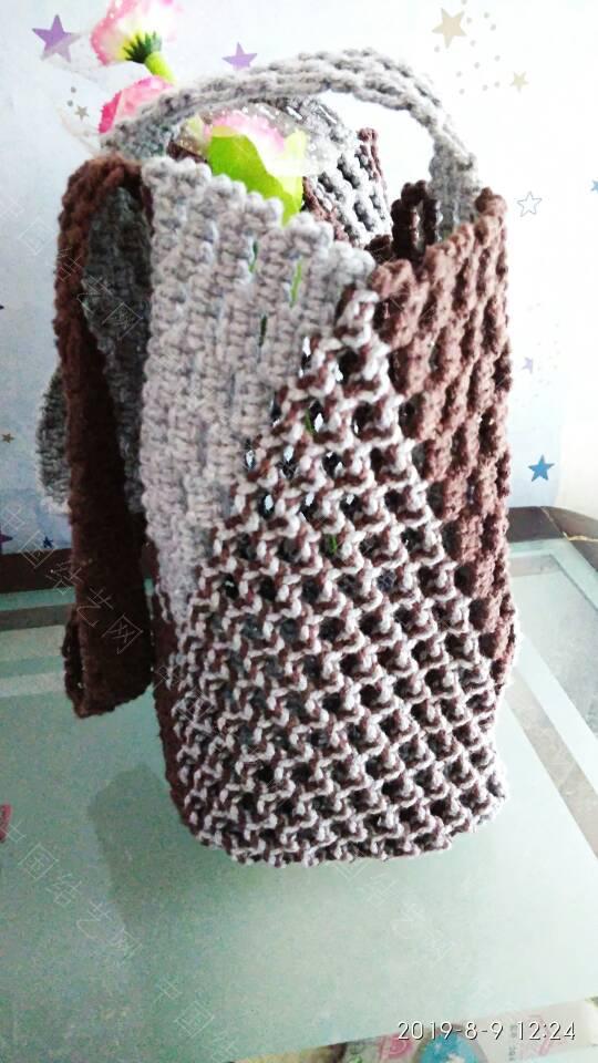 中国结论坛 双色平结袋子  作品展示 124047nkjk1o5kxqlqaejx