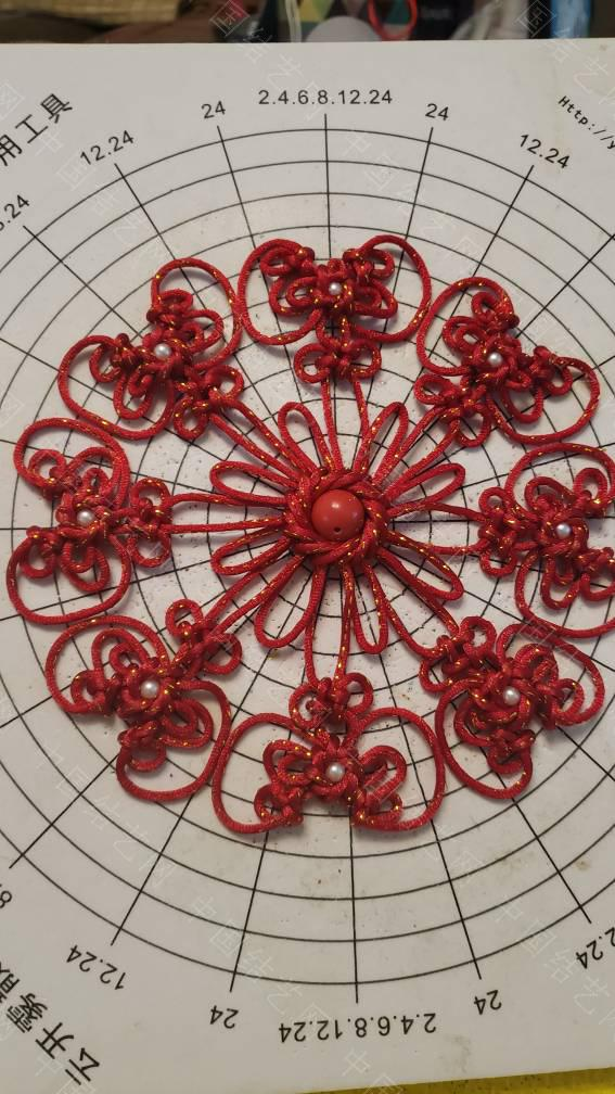 中国结论坛 给华升老师交作业,取名《盛世花开》,我的第一个框饰  作品展示 205112f2fltxc1a2fcatd0