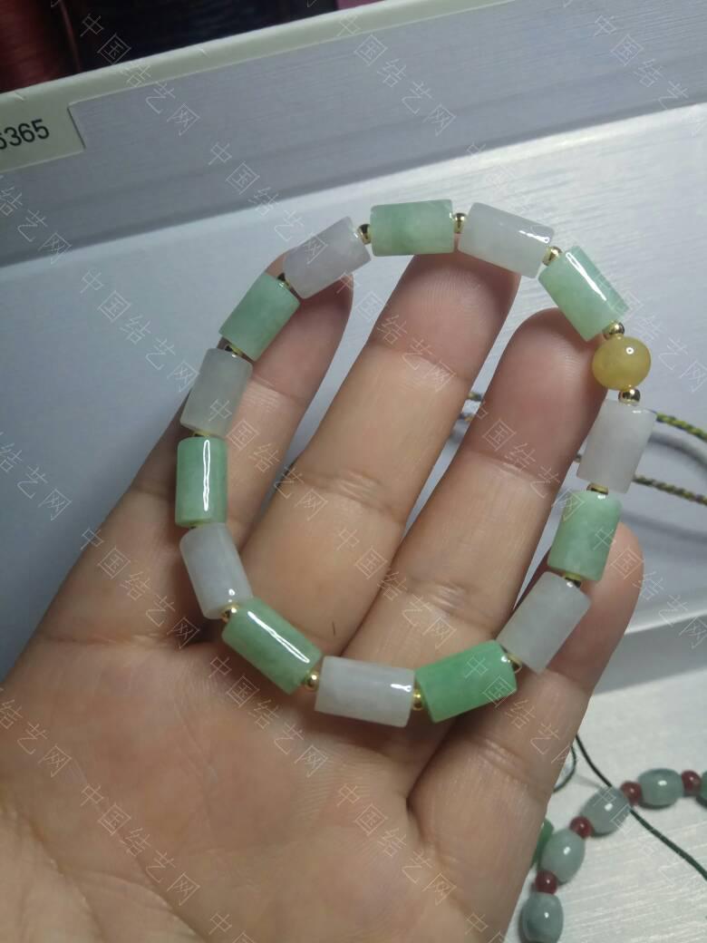 中国结论坛 翡翠桶珠手链 手链 作品展示 235302w8wxa193x930h966