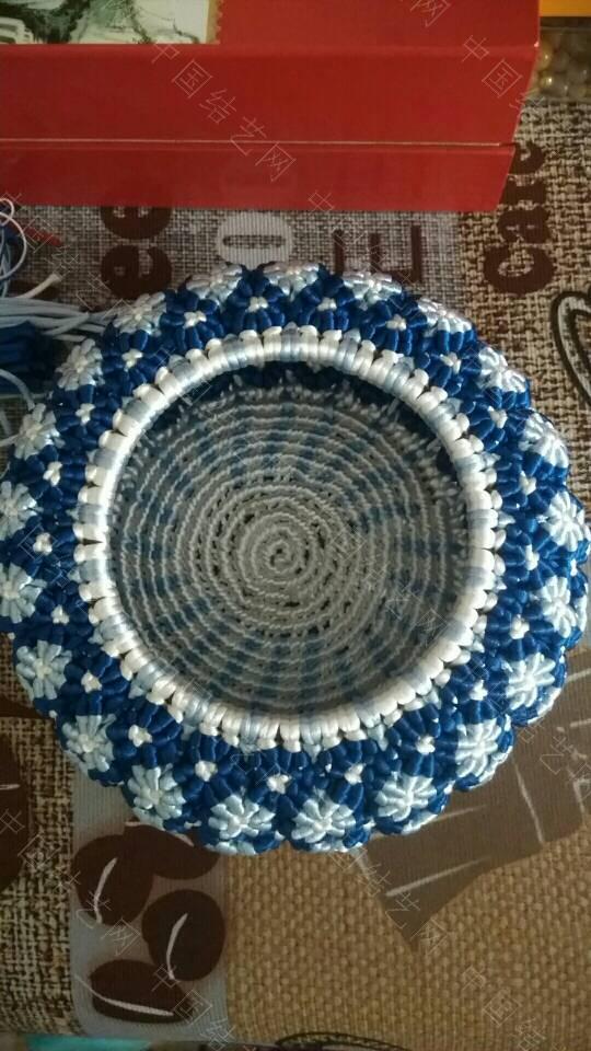 中国结论坛 这几天编的青花瓷  作品展示 153853cin44acx7sa3shh4