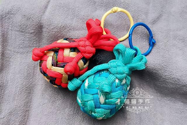 中国结论坛 伞绳缤纷小钱袋  作品展示 191925u3dfhnodpnn2ydei