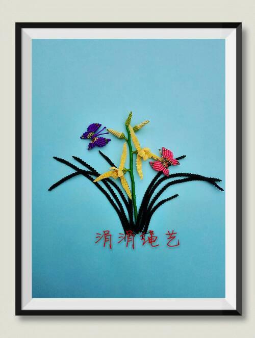 中国结论坛 窗外岁月一一一《兰》  作品展示 165543ftiz18wei3q31nxm