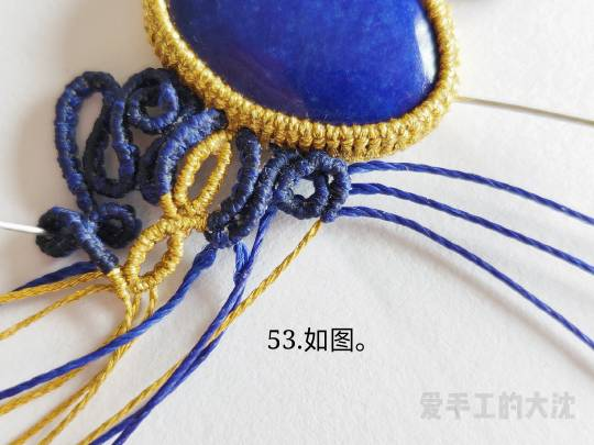 中国结论坛 包石款手链教程—缠绕 手链,教程,中间穿珠子怎样编手链,编带珠子的手链视频,编手链教程穿珠子的 图文教程区 203514il9npxn9ps9gnhlp