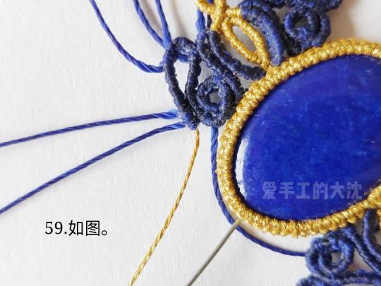 中国结论坛 包石款手链教程—缠绕 手链,教程,中间穿珠子怎样编手链,编带珠子的手链视频,编手链教程穿珠子的 图文教程区 203515zo0h7i0v1xvglw4e