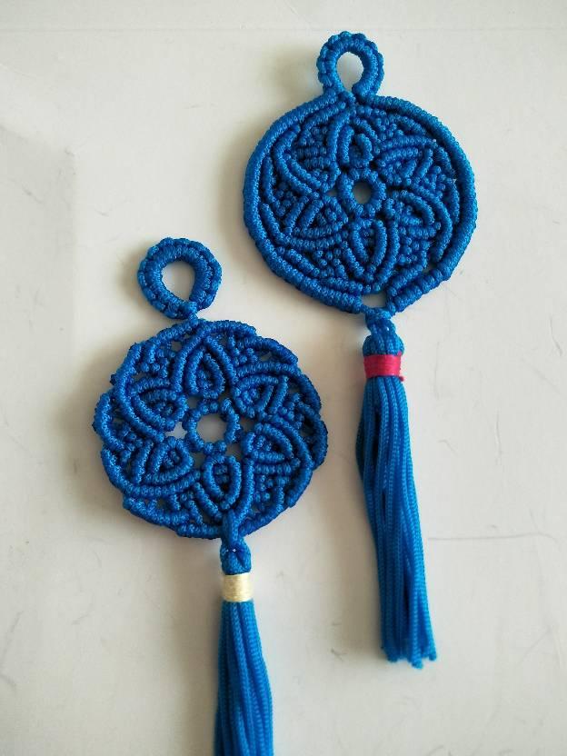 中国结论坛 蓝色小挂件 自制小挂件简单一点,蓝色托帕石的寓意,玉有蓝色的吗 作品展示 152515ntgg36xcjggxgaic