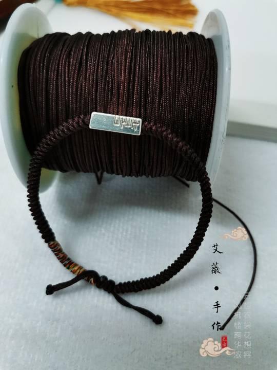 中国结论坛 下班时间做的一款情侣红绳手链  作品展示 231147tibwwd0d4ei0sige