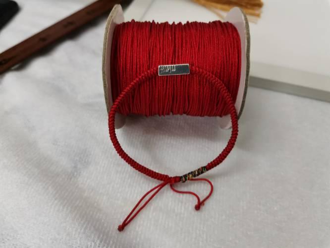 中国结论坛 下班时间做的一款情侣红绳手链  作品展示 231148xbex266veobo0xrk