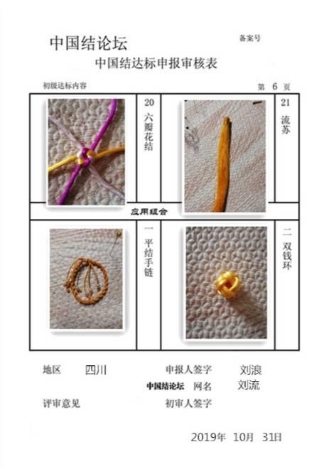 中国结论坛 刘浪-初级达标申请稿件  中国绳结艺术分级达标审核 233301q9wx9140252vxzw1