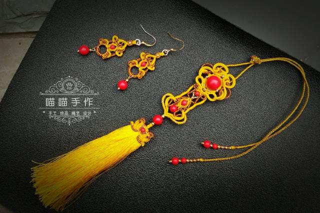 中国结论坛 【如意呈祥】古风项链挂饰  作品展示 112615h3pnzjtkofh013h2