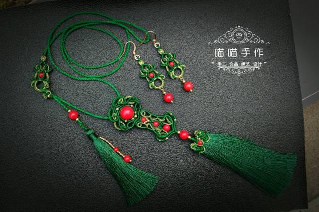 中国结论坛 【如意呈祥】古风项链挂饰  作品展示 112616zj7g8lf7kv2k8lgy