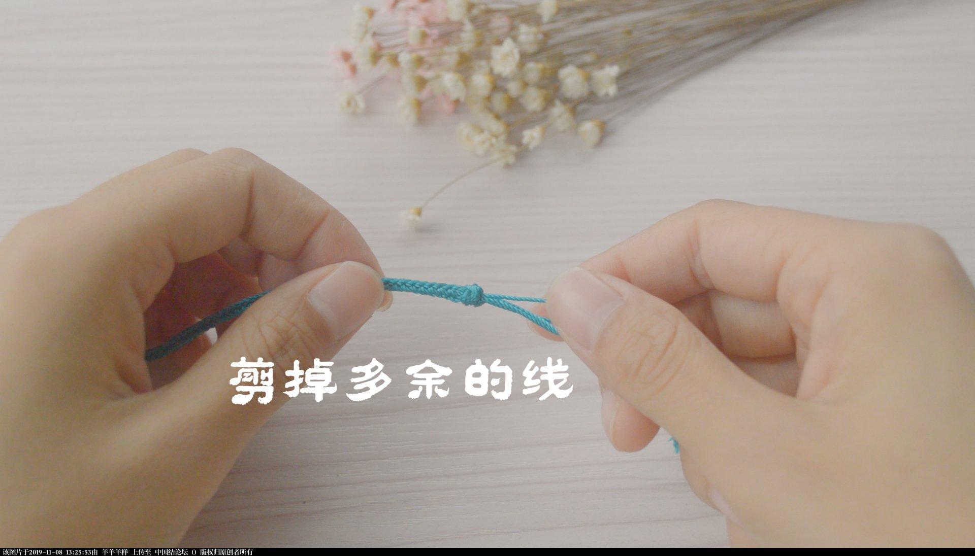 中国结论坛 冰花结只会用来做挂件?试试做一款属于自己的毛衣链,附视频教程  图文教程区 131814eb2pek25ji908y8m