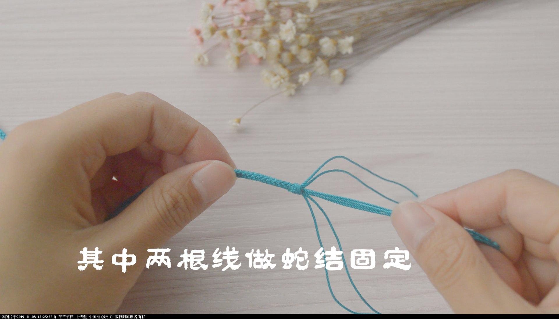 中国结论坛 冰花结只会用来做挂件?试试做一款属于自己的毛衣链,附视频教程  图文教程区 131814yohthqajcgtq9jy6