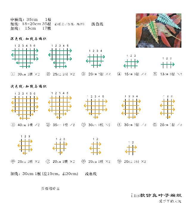 中国结论坛 耳坠(二)仿真叶子编织 耳坠,仿真,叶子,编织,叶子耳坠镶嵌款式图片 图文教程区 121311fze35uup29xw33ub