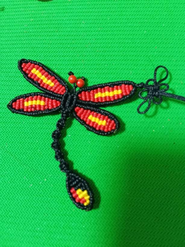 中国结论坛 蜻蜓书签 蜻蜓,书签,蜻蜓书签怎么画,蜻蜓简笔画,手工小书签 作品展示 051045tcc6taicl9plylec