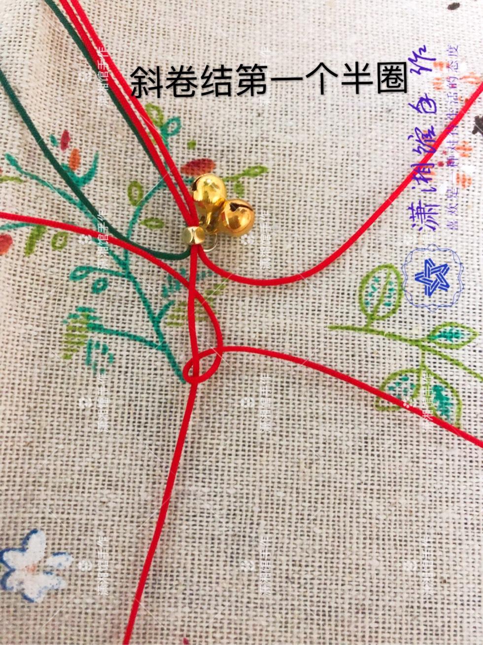 中国结论坛 圣诞节蝴蝶结手链  图文教程区 114819mp17bbdrrrigzb1a