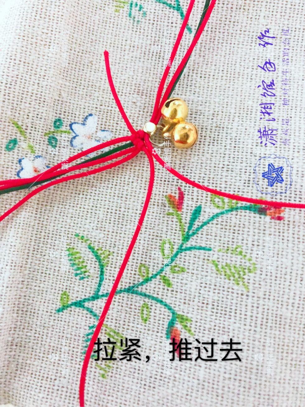 中国结论坛 圣诞节蝴蝶结手链  图文教程区 114825a734rog29c4xh1ju