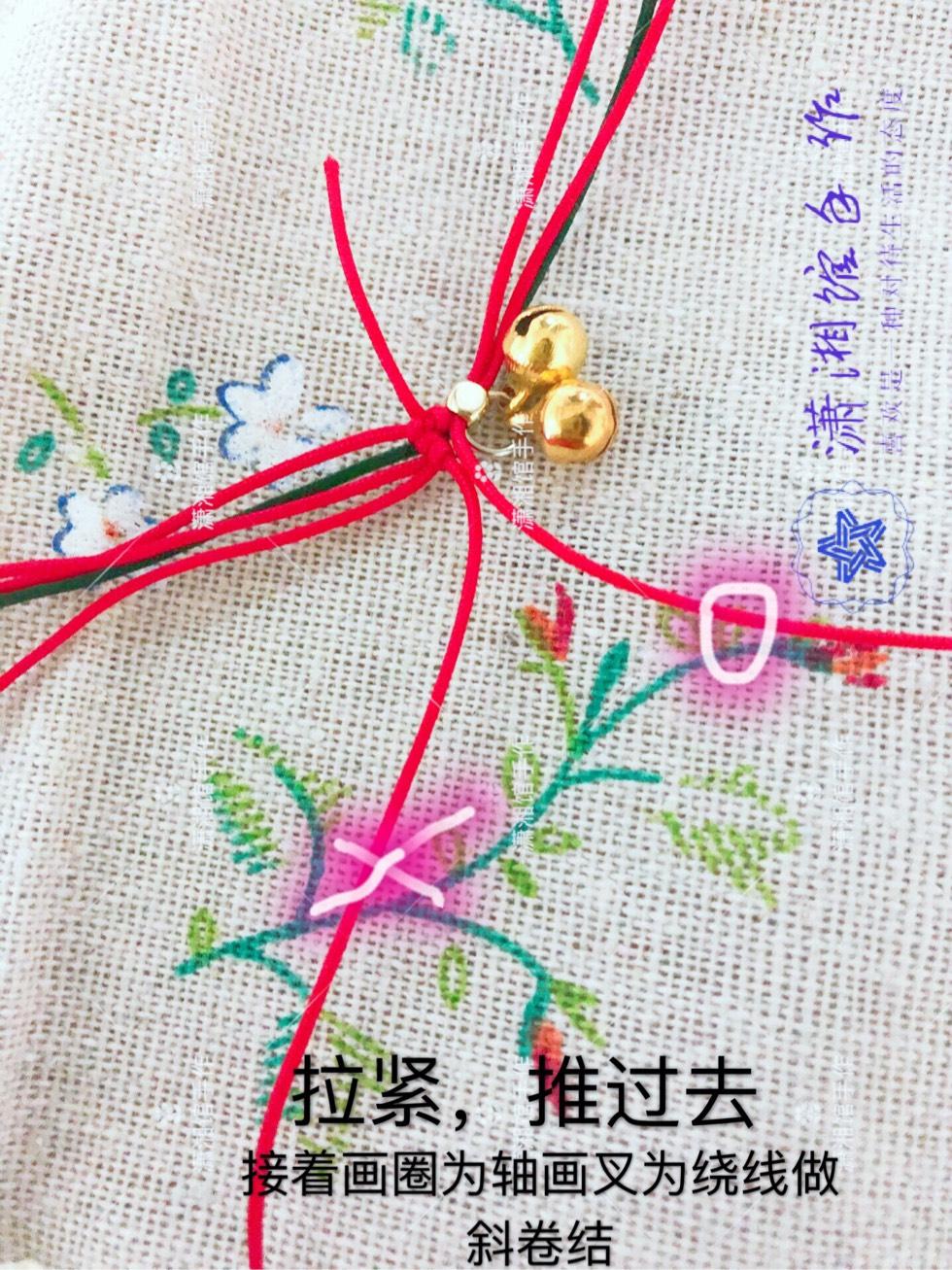 中国结论坛 圣诞节蝴蝶结手链  图文教程区 114826pkxuxtkfgmpukks7