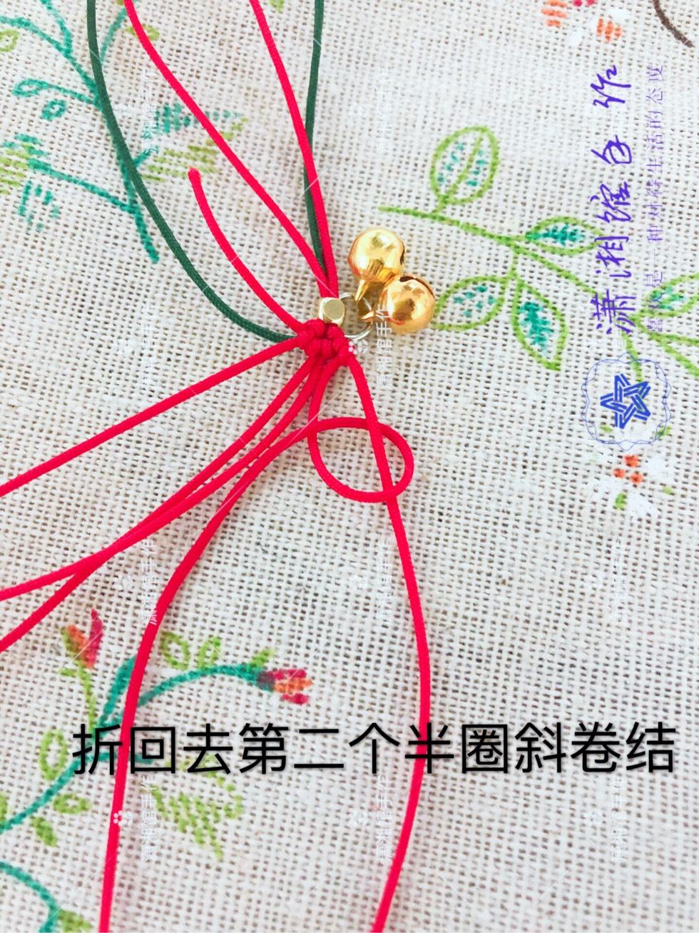 中国结论坛 圣诞节蝴蝶结手链  图文教程区 114830k44znze7n4nrw21w