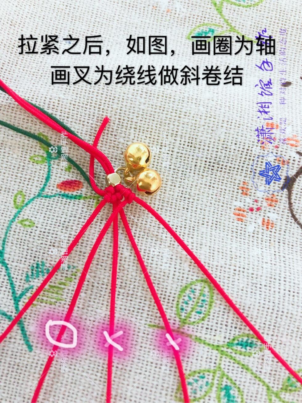中国结论坛 圣诞节蝴蝶结手链  图文教程区 114831y1vv4fav4fyfwf1b