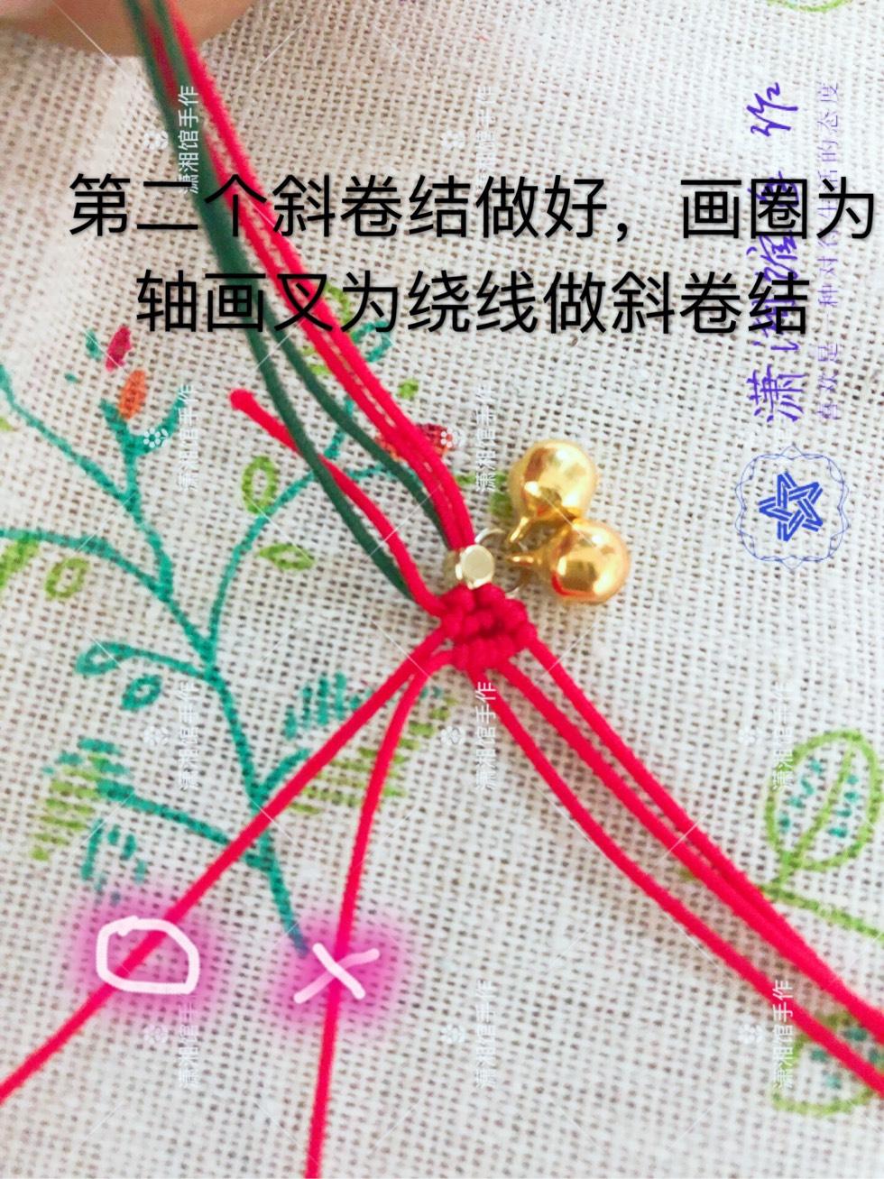 中国结论坛 圣诞节蝴蝶结手链  图文教程区 114834jvh5ec7fu7zum5i8