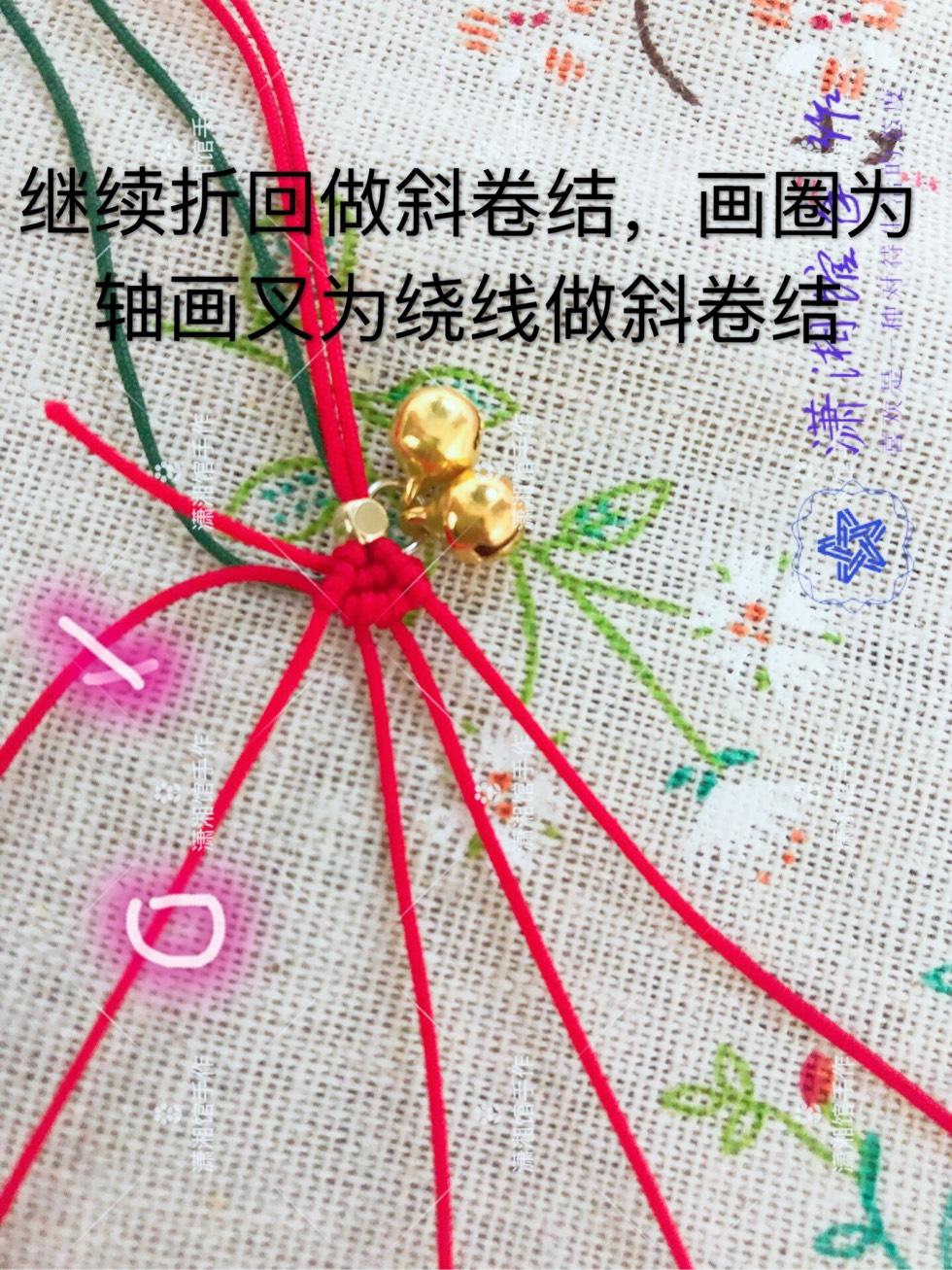 中国结论坛 圣诞节蝴蝶结手链  图文教程区 114836uimd6amgllk76or7