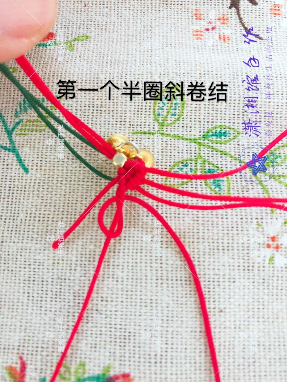 中国结论坛 圣诞节蝴蝶结手链  图文教程区 114839kpfl9uj9lrlubwh5