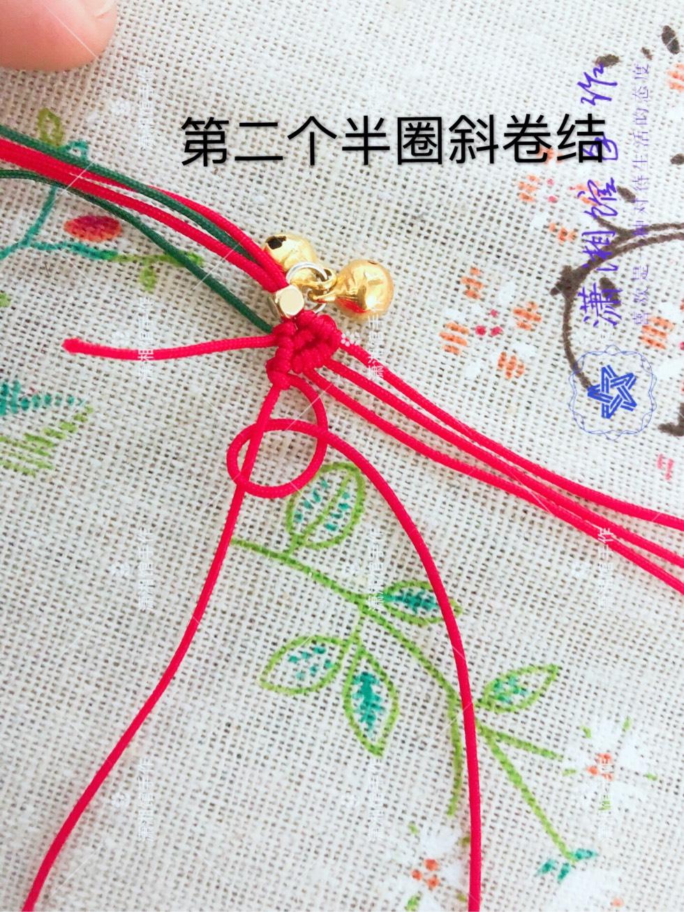 中国结论坛 圣诞节蝴蝶结手链  图文教程区 114845jb76obkz4uo664o6