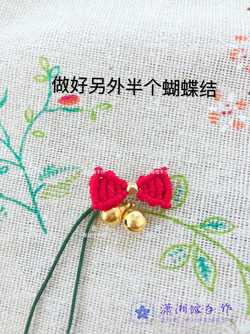 中国结论坛 圣诞节蝴蝶结手链  图文教程区 114910bbs1k6z0bkc7kz9f