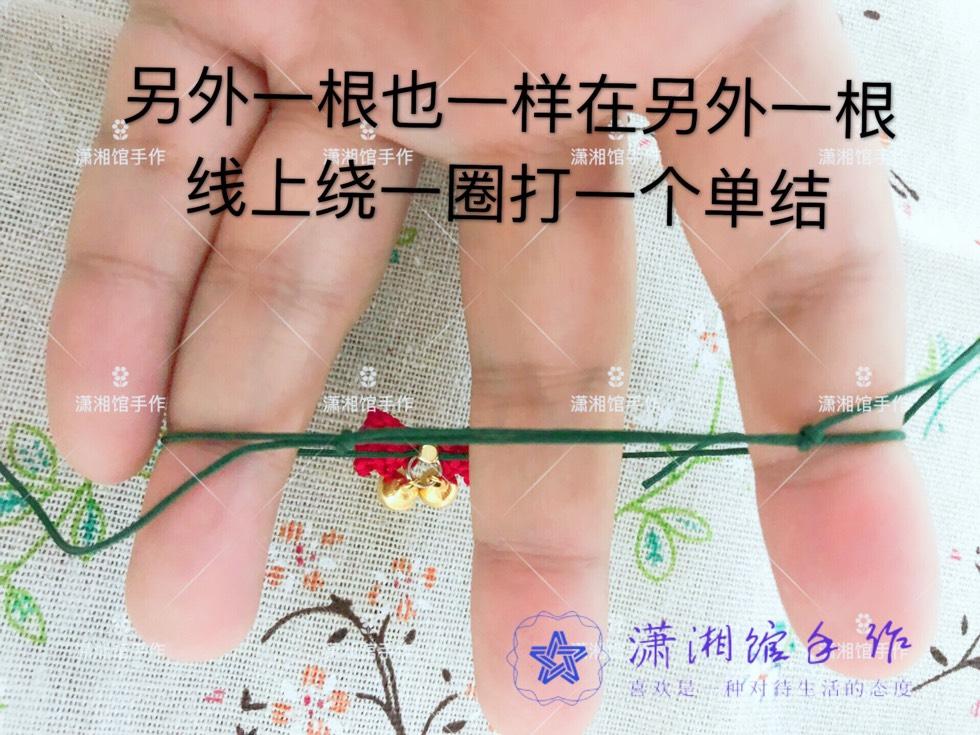 中国结论坛 圣诞节蝴蝶结手链  图文教程区 114916bnl9afq9lqjlqqyn