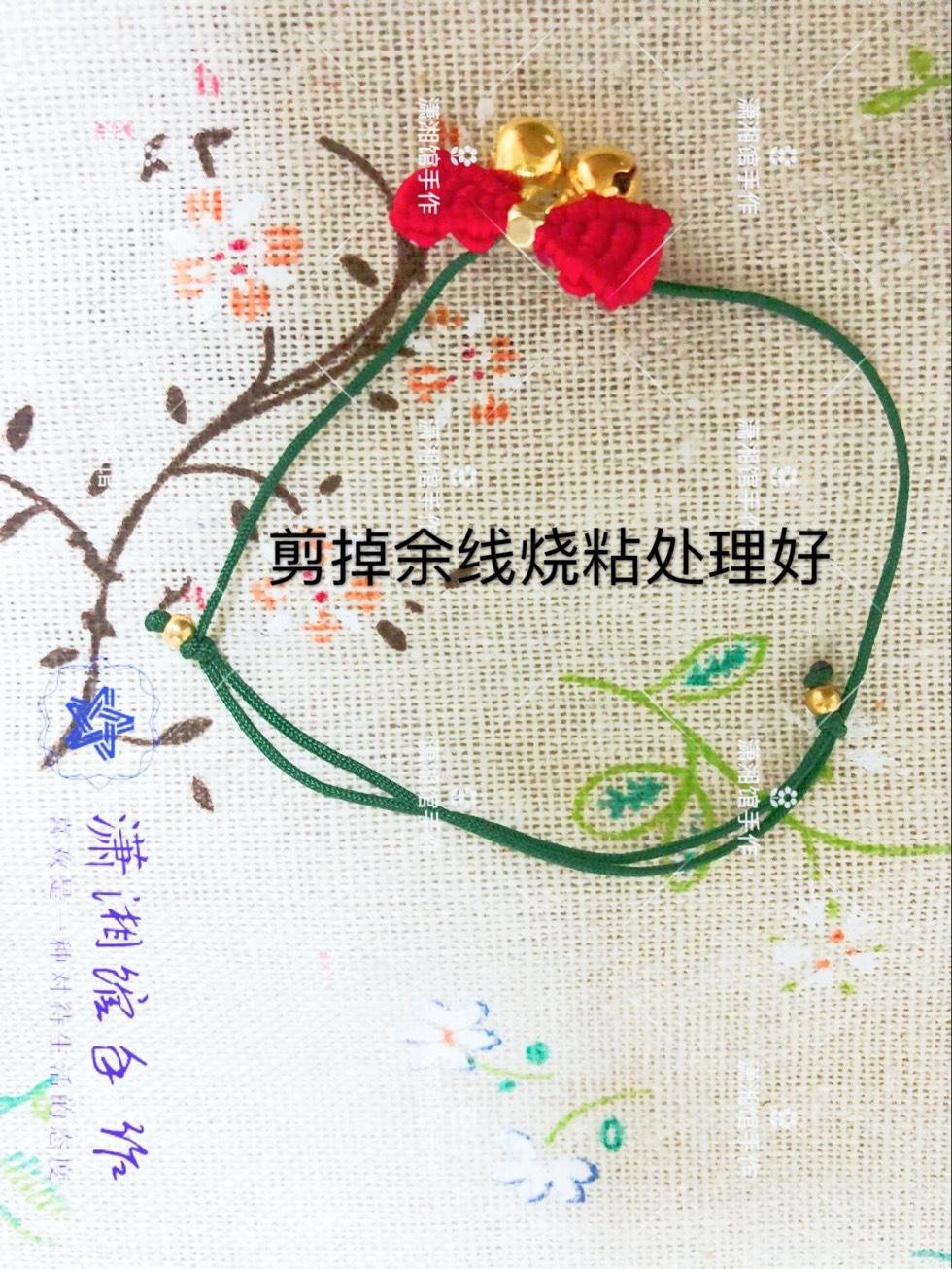 中国结论坛 圣诞节蝴蝶结手链  图文教程区 114919dbrvpqknxq2zfh8n