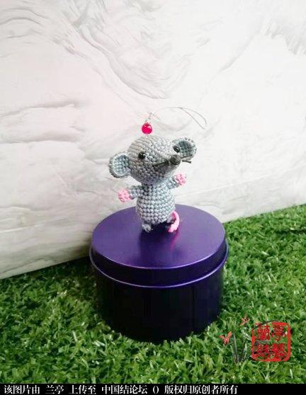 中国结论坛 小老鼠简易教程(适合有立体编基础的) 教程,小老鼠,做手工小老鼠的步骤图,立体老鼠手工制作图片 兰亭结艺 122705qowp9a93rvqcfto9