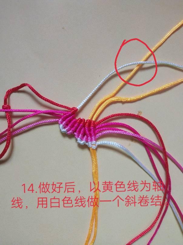 中国结论坛 小蝴蝶教程 教程,手工简单小蝴蝶怎么做,简单的小蝴蝶怎么做,绳编蝴蝶挂件的教程 图文教程区
