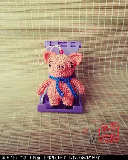 中国结论坛 囧猪-简易教程(适合有立体编基础的结友)  兰亭结艺 142618m77iia9s977mf6v1